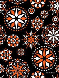 new artwork and random thoughts from David Roos & Ian Challis Random Thoughts, Twinkle Twinkle, Snowflakes, Stars, Artwork, Artist, Pattern, Design, Work Of Art