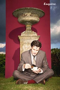 Matt Smith for Esquire UK Magazine | Tom & Lorenzo (So adorable)