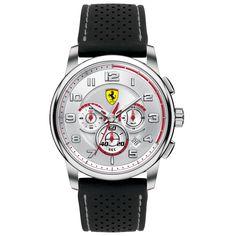 Scuderia Ferrari Heritage Chronograph - Silver dial #ferrari I want this