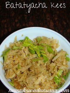 Maharashtrian Cuisine batatyacha kees
