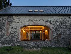 Jonáš Barn by A2F Architects Bilka, Czechoslovakia  https://www.facebook.com/media/set/?set=a.10152402361245420.1073742216.402412880419&type=1