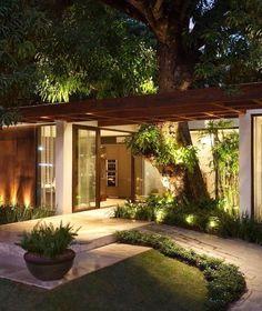 New exterior house design modern simple ideas Dream Home Design, Modern House Design, My Dream Home, Dream Homes, Future House, My House, Bali House, Design Exterior, Dream House Exterior