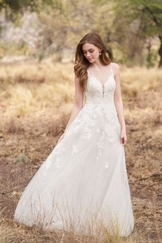 25598 - Dana is all romance! Try this beauty on at Aurora Bridal in Melbourne, Florida 321-254-3880