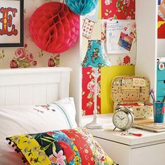 Brightly coloured bedroom | Summer bedroom ideas - 10 of the best | Bedroom | Design | PHOTO GALLERY | Housetohome.co.uk