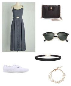 """""""Untitled #67"""" by vintage6739 on Polyvore featuring Vans, Ted Baker, Ray-Ban and Humble Chic"""