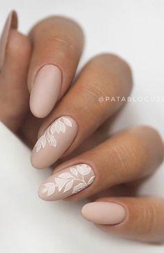 Tan Nails, Blush Nails, Neutral Nails, Neutral Wedding Nails, Wedding Nail Colors, Wedding Day Nails, Wedding Nails Design, Bridal Nail Design, Bridal Nail Art