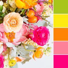 Color schemes, orange color palettes, green colour palette, orange color co Orange Pink Color, Orange Color Schemes, Rose Orange, Orange Color Palettes, Pink Palette, Green Colour Palette, Color Palate, Palette Art, Green And Orange