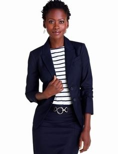 Nautical look, for professional women