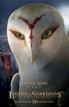 """Eight characters posters for Zack Snyder's """"Legend of the Guardians: The Owls of Ga'Hoole"""" starring Jim Sturgess, Hugo Weaving, and Helen Mirren. Hugo Weaving, Owl Art, Fantasy Creatures, Disney Pixar, Doodle, Illustration, Character Design, Drawings, Movie Posters"""
