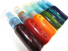 Homemade spray inks.... Mel Stampz...  TONS of info here