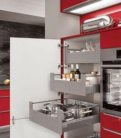 Attirant Aufbewahrungsschrank Küche Eiche San Remo Norina 2371 | Küche | Pinterest
