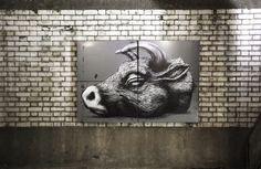 Os Fascinantes Murais Animados De A. L. Crego   Arte - TudoPorEmail