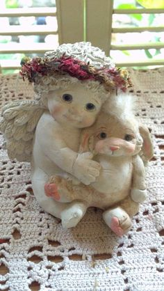 Vintage Dreamsicles Cherub Angel Cast Art By by PattiesPassion, $18.88