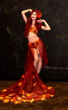 Disney Character Cosplay Autumn Poison Ivy by hjsteele - Dc Cosplay, Disney Cosplay, Best Cosplay, Cosplay Girls, Cosplay Costumes, Red Hair Cosplay, Cosplay Pokemon, Avatar Cosplay, Robin Cosplay