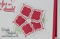 Stampin' UP! Mosaic Madness - Christmas look?
