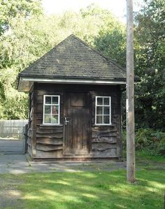Park keepers hut - Sutton Park, Sutton Coldfield, England. If you lived in Sutton, you had a sticker on your car windscreen with the year date, to allow you into the Park...before it became Birmingham...now it is free for all to go in.
