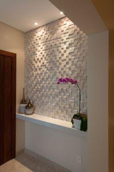 Décorer les murs avec des Panneaux 3D! Facile et économique… 20 exemples!