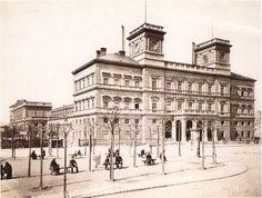 Kaiser-Franz-Josefs-Bahnhof, ca. 1880. Built in 1872. Demolished 1974.