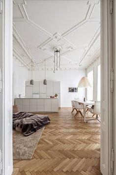 Classic apartment in Vienna (via Bloglovin.com )