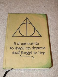 A5 Deathly Hallows Harry Potter Inspired by MoonbeamsCuriosities, £9.50