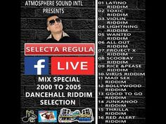 SELECTA REGULA MIX SPECIAL 2000 TO 2005 DANCEHALL RIDDIM SELECTION Reggae, The Selection, Promotion