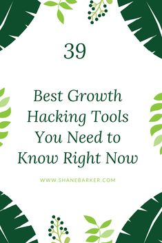 39 of the best growth hacking tools that will help marketers to achieve their defined goals. Digital Marketing Strategy, Marketing Plan, Marketing Tools, Content Marketing, Internet Marketing, Mobile Marketing, Marketing Strategies, Affiliate Marketing, Small Business Marketing