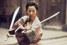 Michelle Yeoh in Crouching Tiger