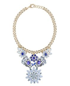 Floral bib necklace by Lulu Frost for J. Crew - drool.