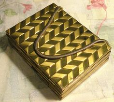 3 in 1 Cigarette Case Powder Compact Purse by RosePetalResources, $44.00