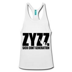 7afba84664f1fa Stringer Tank Top Zyzz Sickkunt Generation - Do you want to be part of the  sickkunt generation  Then this Zyzz stringer is must buy for you!