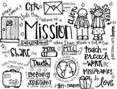 Melonheadz LDS illustrating: missionaries
