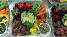 Hummus Grab-n-Go Salad from Kalispell Public Schools in Montana.