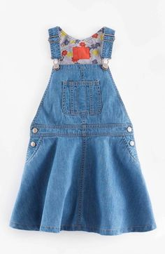 Mini Boden Overall Dress (Toddler Girls, Little Girls & Big Girls) available at #Nordstrom