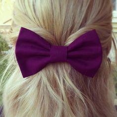 Purple hair bow❤️
