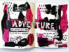 Sara Free | Season of Adventure | Get Messy Art Journal