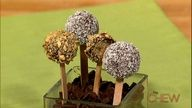 Carla Hall's Cake Pops recipes. #thechew