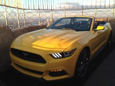 Wallpaper Wednesday! The brand new 2015 Mustang on top of the Empire State Building!