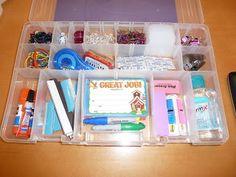 Room Mom Extraordinaire: School Supplies Box for teacher