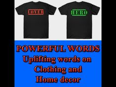 Powerful words on clothing always makes a statement, either good or bad. Here is some positive and powerful words of art on T-shirts. It is also available on home decor products. For more info, just visit below link. Uplifting Words, Powerful Words, Online Art, Outfits For Teens, Online Printing, Print Design, Positivity, Unique, Link