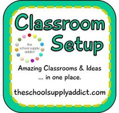 I'm dreaming about these! Links to classrooms, photos, and ideas for getting your classroom ready!
