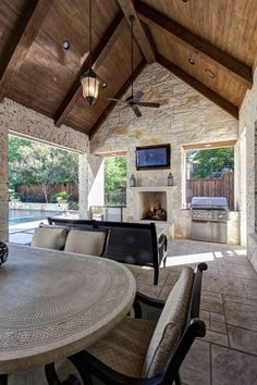 💖 98 outdoor living space design faboulous tips how to create the perfect outdoor space 56 Outdoor Living Rooms, Outdoor Spaces, Outdoor Cooking Area, Outside Living, Rustic Outdoor, Outdoor Decor, Outdoor Ideas, Outdoor Projects, Outdoor Lighting