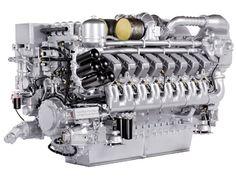 Marine diesel engine MTU 4000 series, good things come from Friedrichshafen.