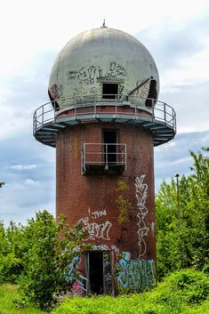 Field Station Berlin Teufelsberg: NSA spy station on buried Nazi college East Germany, Berlin Germany, Abandoned Buildings, Abandoned Places, Berlin Photography, Diesel Punk, Berlin Wall, Military Life, Cold War