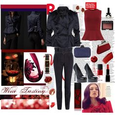 """""""Wine Tasting"""" by doriana-d on Polyvore"""