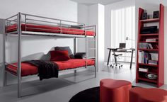 Literas, dormitorio juvenil
