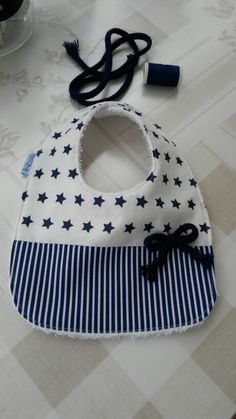 baby bibs and burp bath towels will assist safeguard little one and mom's clothing from salivate and spills. Baby Sewing Projects, Sewing For Kids, Baby Gifts To Make, Burp Rags, Burp Cloths, Baby Bibs Patterns, Bib Pattern, Baby Kind, Baby Crafts