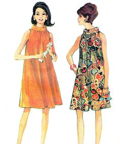 1960s Dress Pattern McCalls
