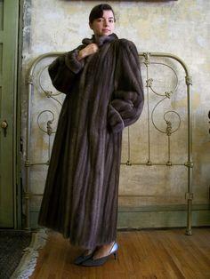 Originally $18,0000, this vintage 1980s Lanvin mink coat is $3500.