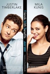 Friends with benefits.  Mila Kunia and Justin just rolled so well together