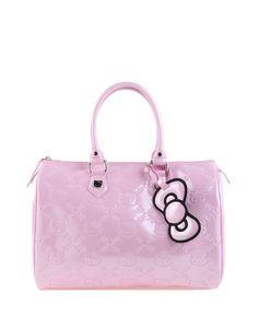 Loungefly HELLO KITTY LIGHT PINK Embossed Patent Bag purse Handbag Tote Satchel | eBay